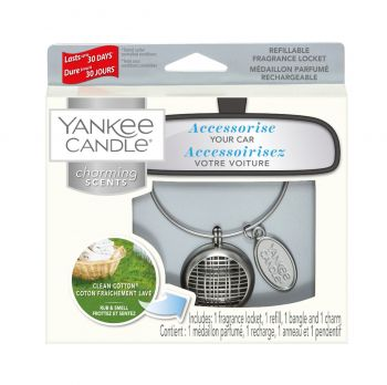 Yankee Candle Autoparfum Charming Scents Clean Cotton Linear