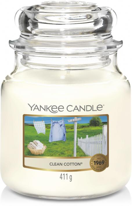 Geur van de maand juli: Yankee Candle Clean Cotton