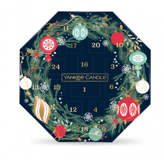 Yankee Candle Countdown to Christmas Wreath Adventskalender 2021