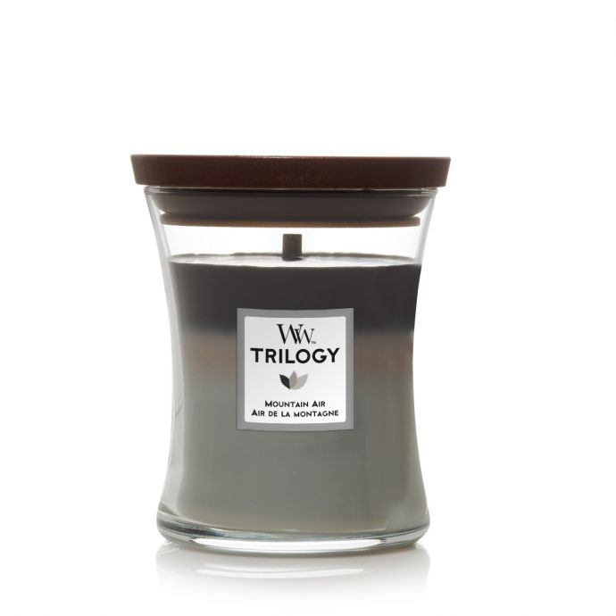 WoodWick Candle Trilogy Mountain Air