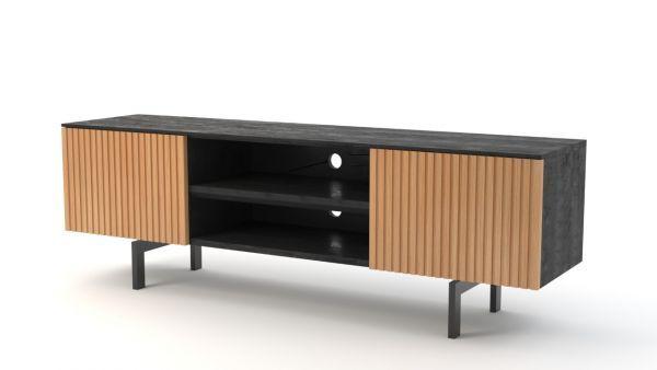 Stripes tv-meubel 2-deurs