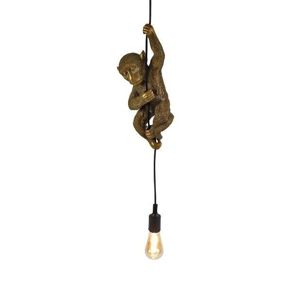 Hanglamp aap Chip goud
