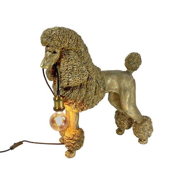 Staande lamp poedel Elves goud