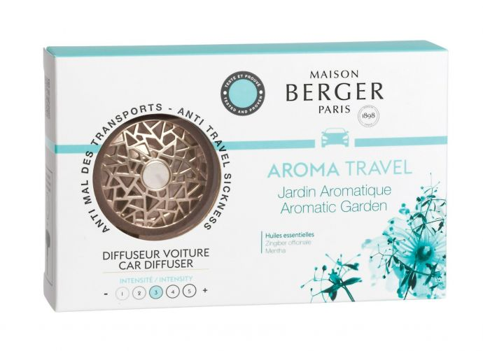 Maison Berger Autoparfum Car Diffuser Aroma Travel