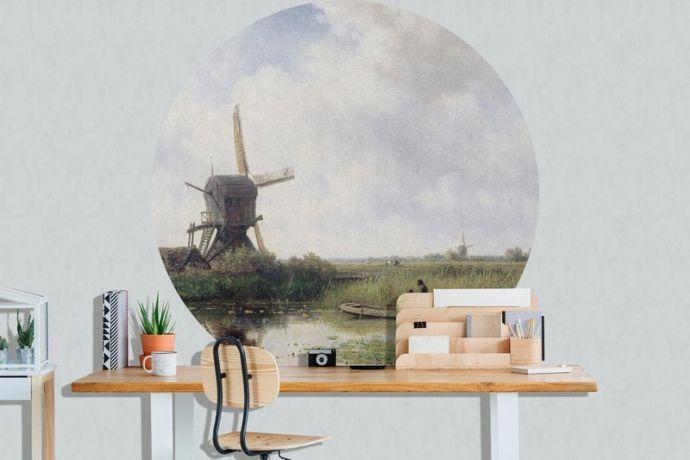 Behangcirkel Dutch Landscape