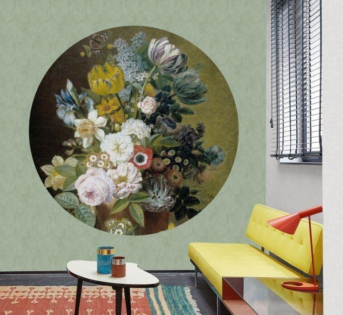 Behangcirkel Still Life with Flowers IV