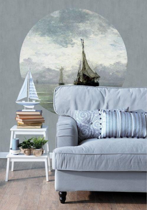 Behangcirkel Calm Sea