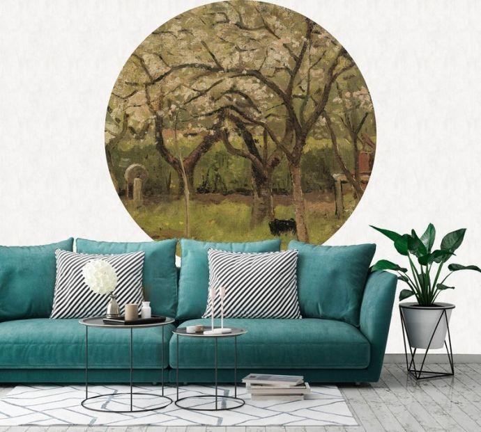 Behangcirkel Flowering Orchard