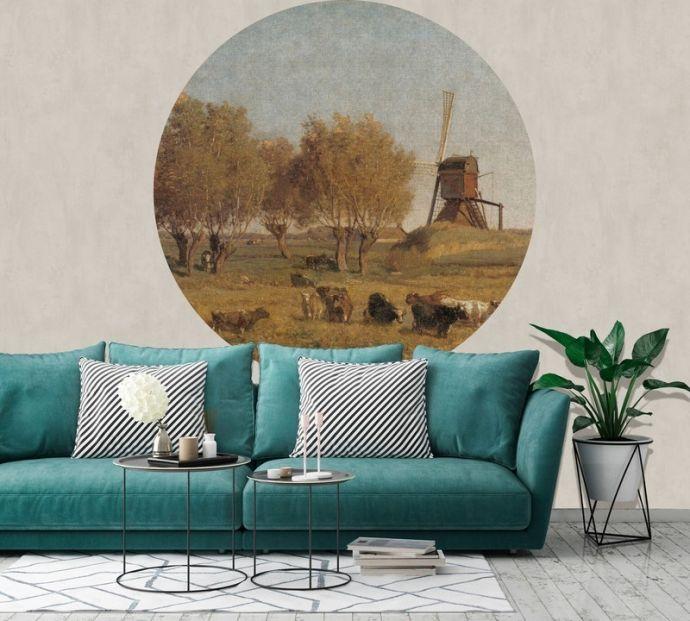 Behangcirkel Dutch Landscape IV