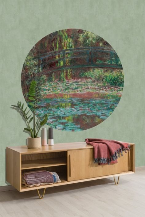 Behangcirkel Waterlily Pond
