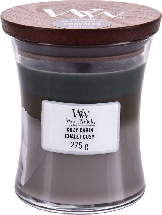 Geur van de maand oktober: WoodWick Candle Trilogy Cozy Cabin