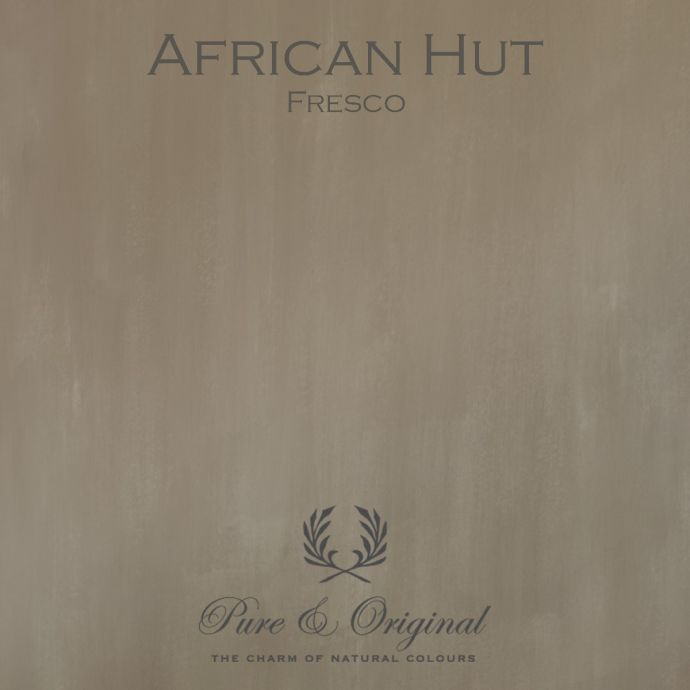 Pure & Original Fresco African Hut