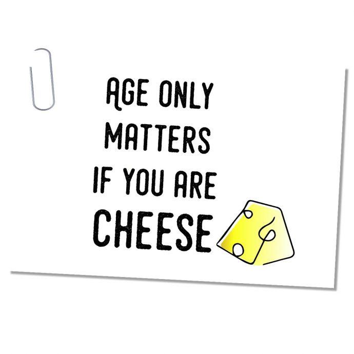 Ansichtkaart leeftijd
