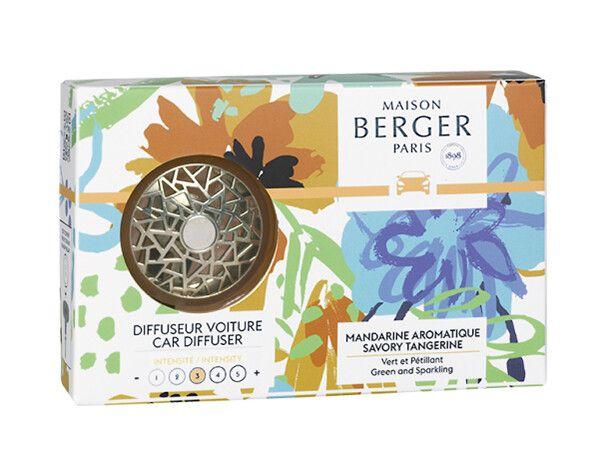 Maison Berger Autoparfum Car Diffuser Savory Tangerine