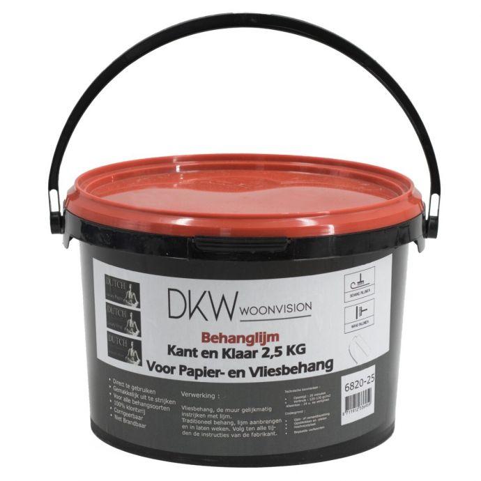 Kant & klare behanglijm 2,5 kg