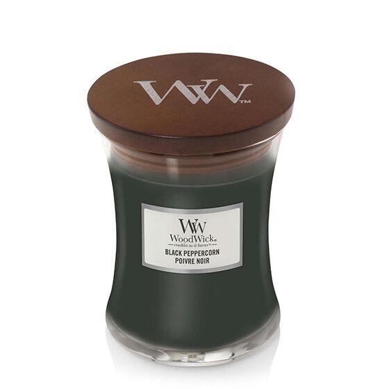 Geur van de maand oktober: WoodWick Candle Black Peppercorn