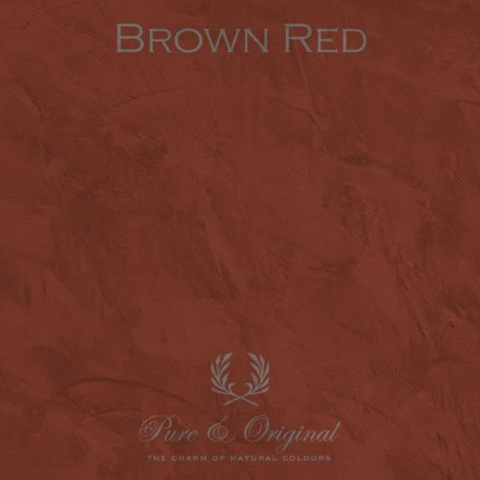 Pure & Original Marrakech Walls Brown Red