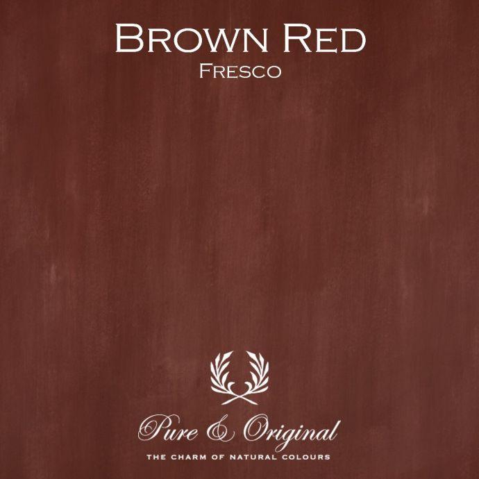 Pure & Original Fresco Brown Red