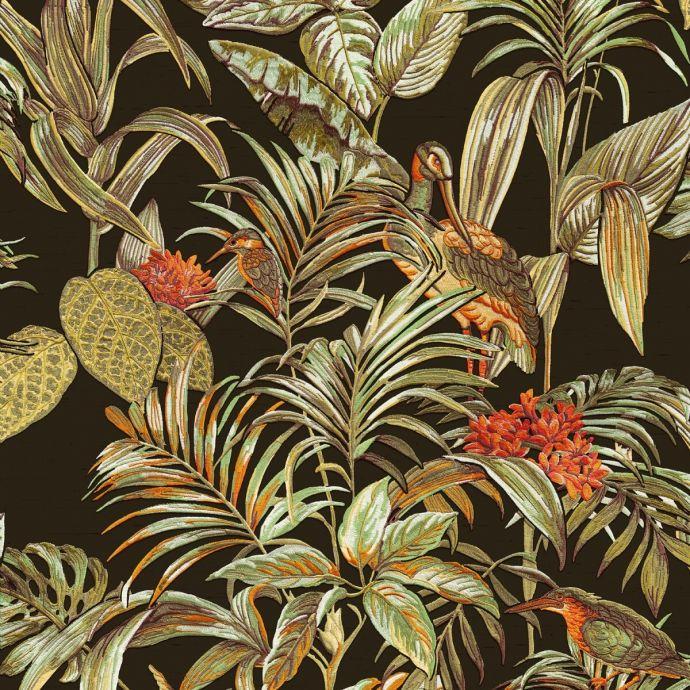 Patroon behang Embellish Vogel