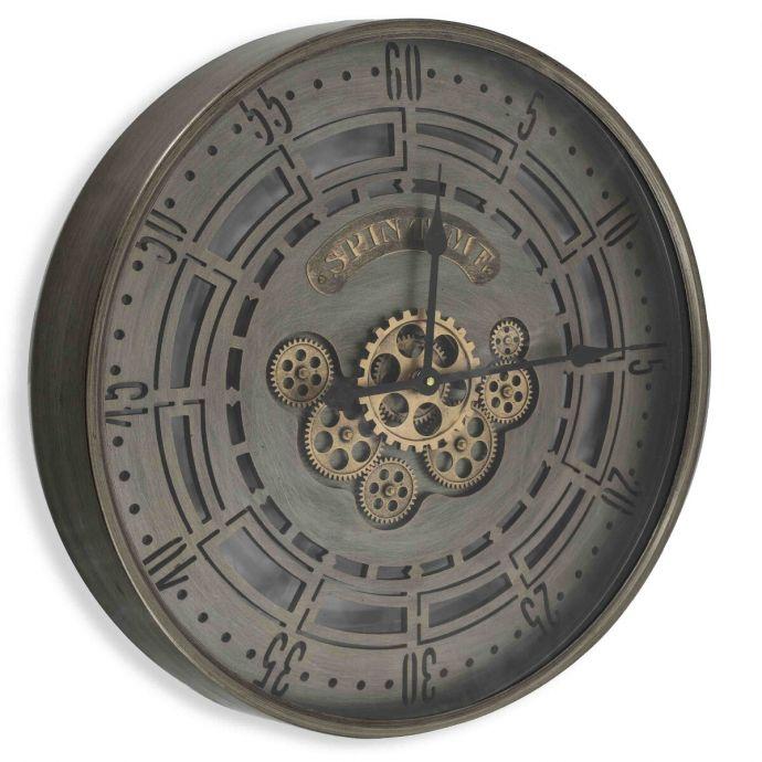 Raderklok spin time