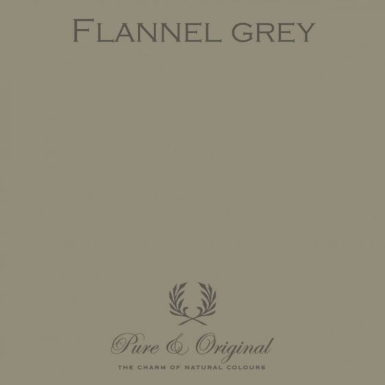 Pure & Original Traditional Paint Eggshell Flannel Grey