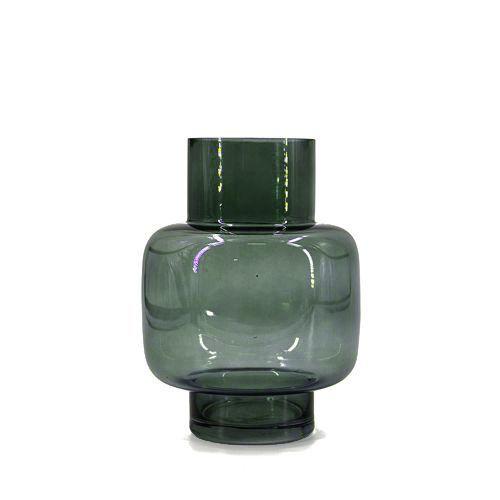 Glazen vaas groen