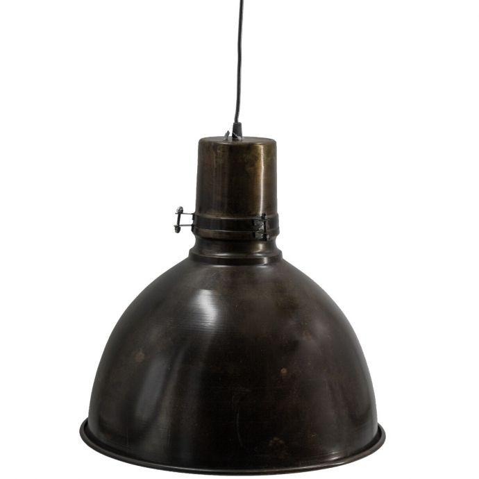 Metalen hanglamp industrieel