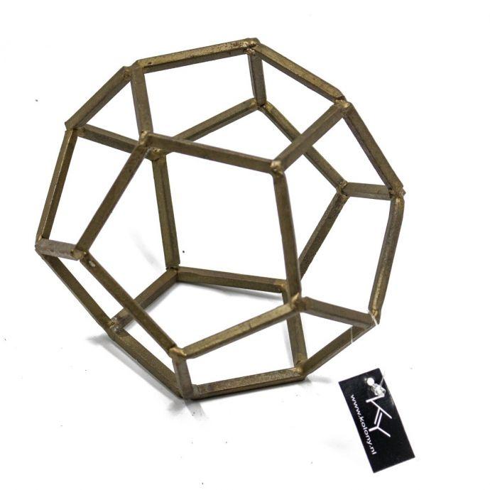 Ornament decoratie goud