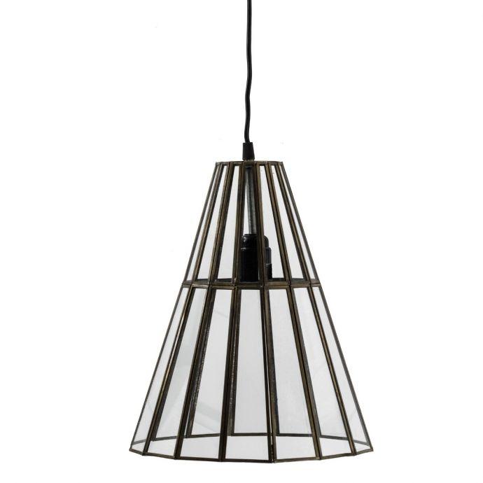 Hanglamp met glas