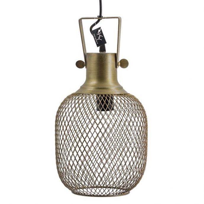 Hanglamp gaas goud