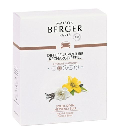 Maison Berger Autoparfum Navulling Heavenly Sun