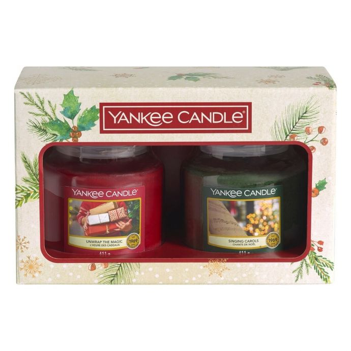 Yankee Candle Magical Christmas Morning giftset 2 medium jars