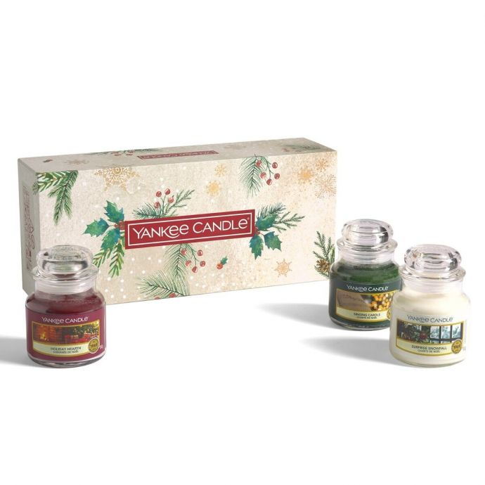 Yankee Candle Magical Christmas Morning giftset 3 small jars