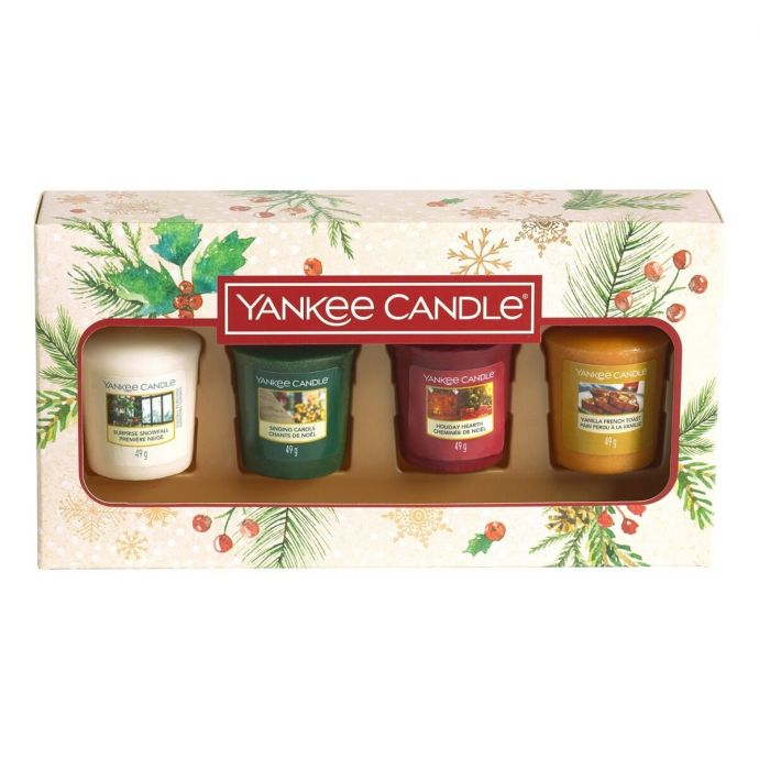 Yankee Candle Magical Christmas Morning 4 votive giftset