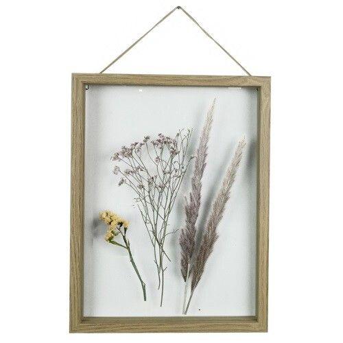 Fotolijst met droogbloemen