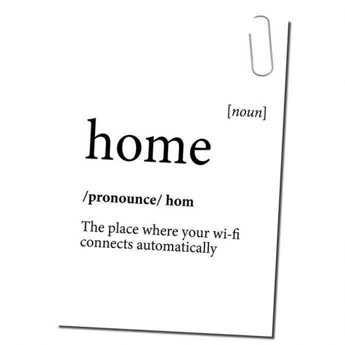 Ansichtkaart home