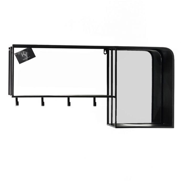 Wandrek met spiegel
