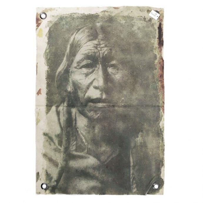 Canvas doek indiaan