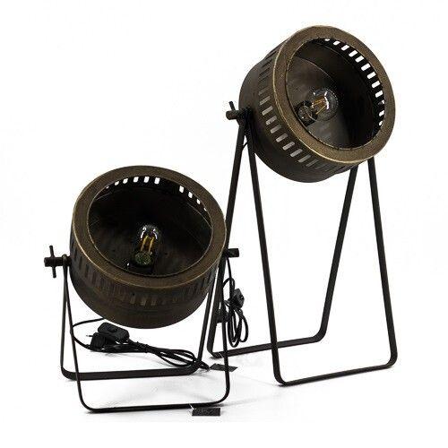 Bronzen bureaulamp