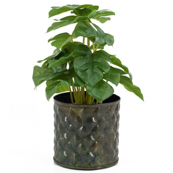 Dieffenbachia bush kunstplant in pot