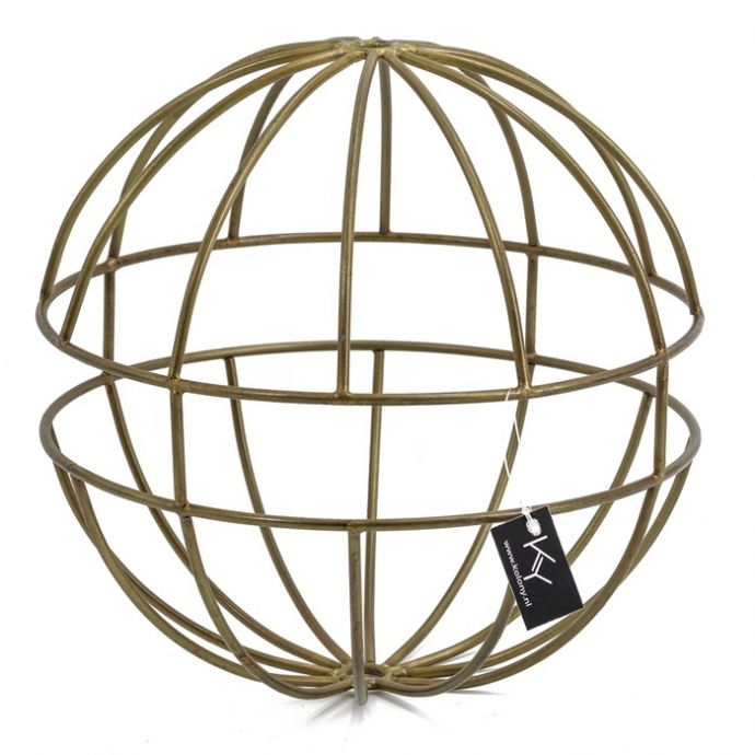 Ornament rond goud