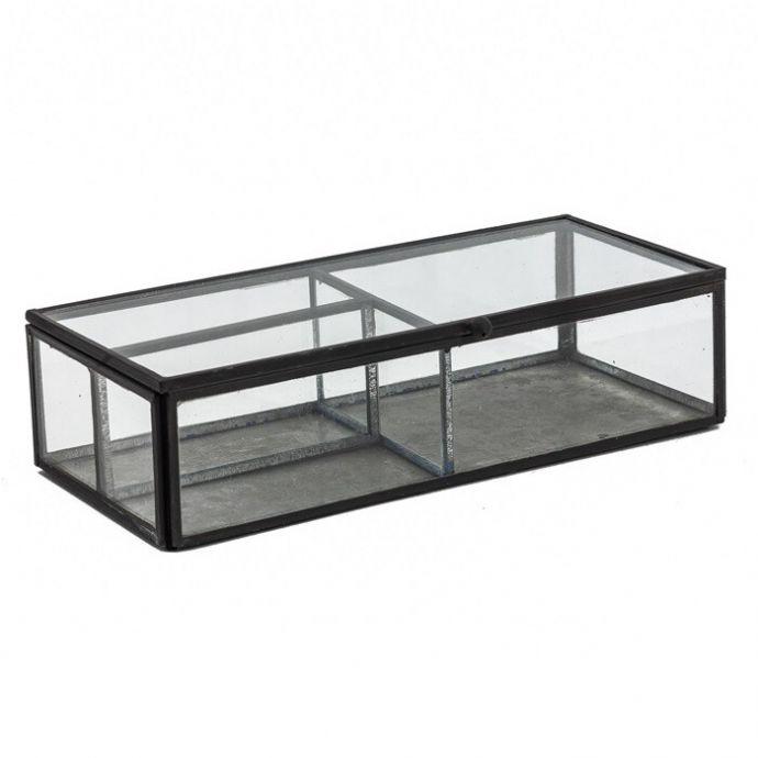 Glazen opbergbox