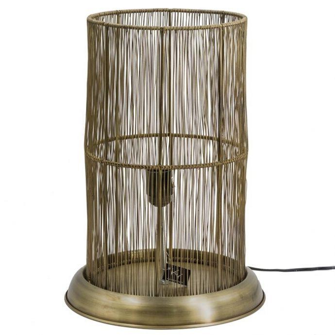 Bureaulamp metaal goud