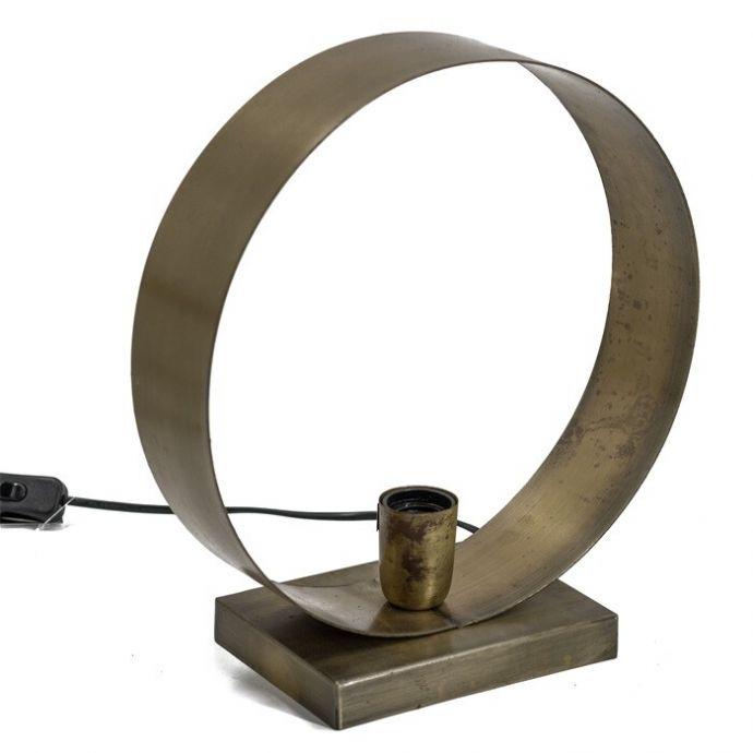Bureaulamp cirkel metaal