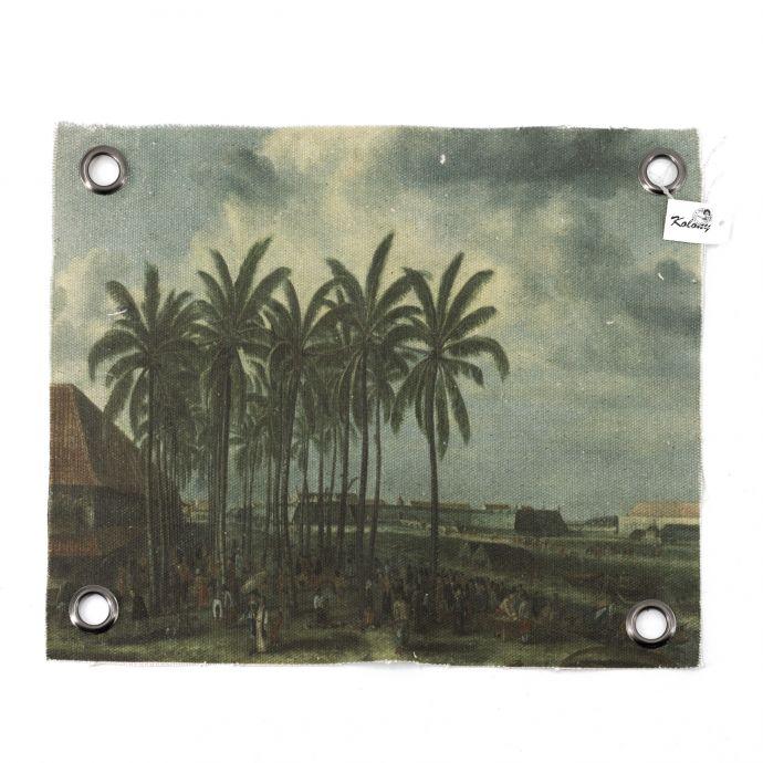 Canvas doek palmboom