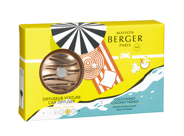Maison Berger Autoparfum Car Diffuser Coconut Monoï