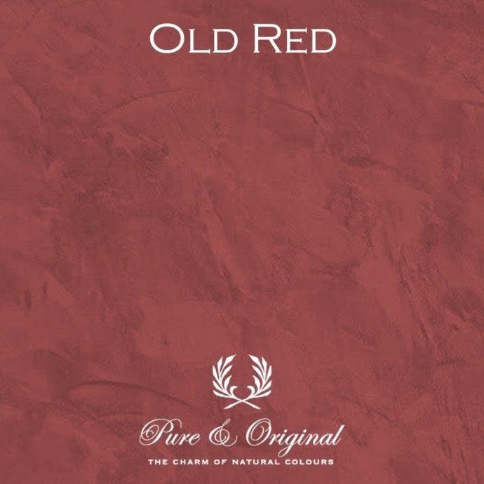 Pure & Original Marrakech Walls Old Red