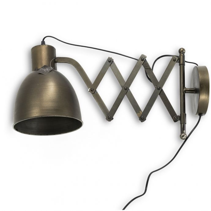 Wandlamp uittrek