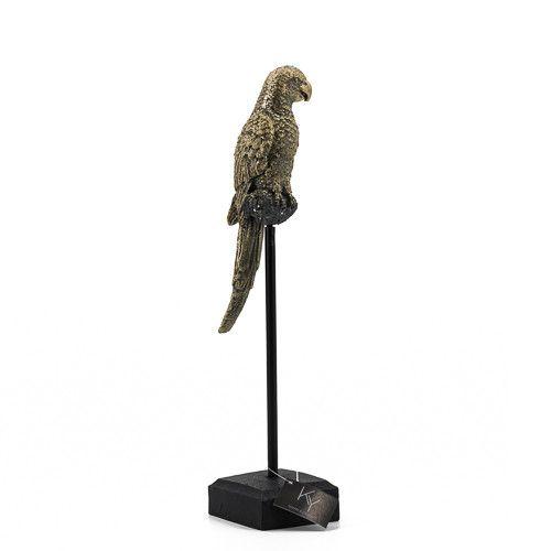 Vogel op staander