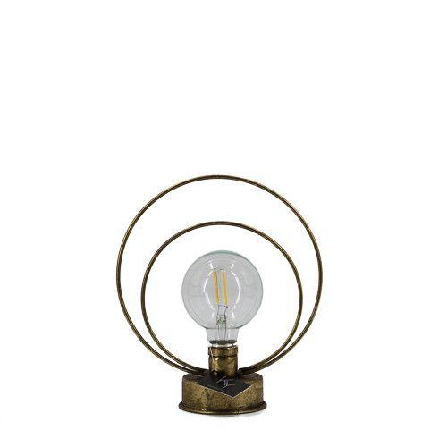 Gouden windlicht